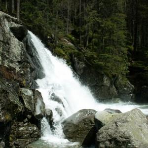 Vysoké Tatry Studenovodský vodopád